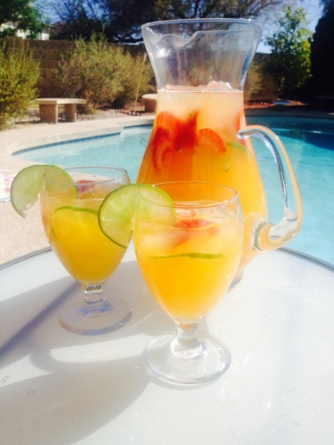 Summer Time Rum Punch