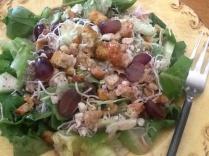 Pear and Grape Salad